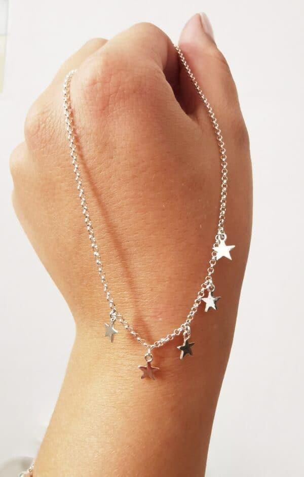Collar estrellas mini
